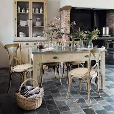 Idée Relooking Cuisine Table à Dîner Zinc Maisons Du Monde