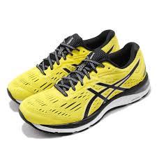 Details About Asics Gel Cumulus 20 Lemon Spark Black Men Running Shoes Sneakers 1011a008 750