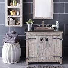 White Wood Bathroom Vanity Chic Design Ideas With Reclaimed Wood Bathroom Vanities Floating