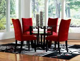 red dining chairs red dining chairs package of two the brick