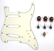 1964 aged white superstrat kit complete top sellers