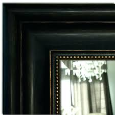 black wall mirror distressed antique black gold bathroom vanity framed wall mirror black metal wall mirror