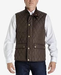 London Fog Men's Big & Tall Diamond Quilted Vest - Coats & Jackets ... & London Fog Men's Big & Tall Diamond Quilted Vest Adamdwight.com