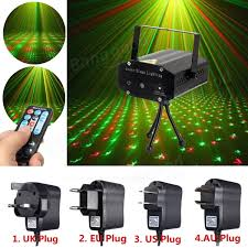 mini r g auto led laser stage light projector with remote controller for xmas dj