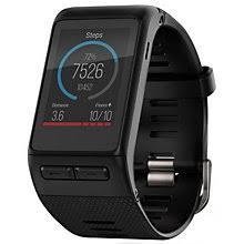 watches h samuel garmin vivoactive hr gps black smartwatch size regular product number 5210488