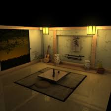 Japanese Living Room Japanese Living Room By Chlize On Deviantart
