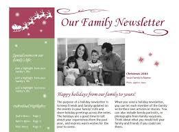 family newsletter christmas family newsletter template christmas family newsletter