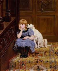 briton riviere sympathy tate london oil on canvas find this pin and more on charles burton barber