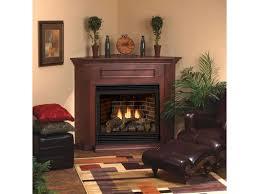 cherry standard corner mantel 32 firebox dvd32 w matte black frame