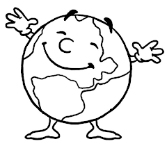 Small Picture Mr Earth Day is Very Happy Today Coloring Page Download Print