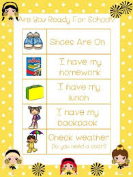 4 Cheer Themed Daily Routine Charts Preschool 3rd Grade Routine Activity