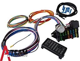 amazon com a team performance 12 circuit universal wire harness Hot Rod Wiring Harness Universal a team performance 12 circuit universal wire harness muscle car hot rod street rod new Universal GM Wiring Harness