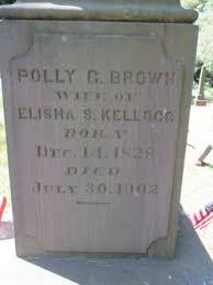 Polly Garrett Brown Kellogg (1828-1902) - Find A Grave Memorial
