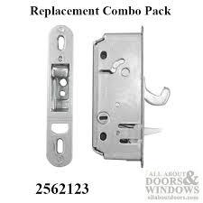 latch receiver andersen 2 panel reachout lock discontinued