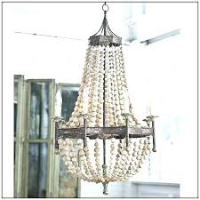 impressive wood bead chandelier l4231430 wood bead chandelier wood bead chandelier scalloped wood bead chandelier small