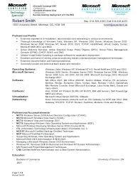 Exchange Administrator Sample Resume Stunning Linux System Administrator Resume Sample Resume System Administrator
