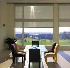 motorized patio door blinds roller shades sliding glass doors