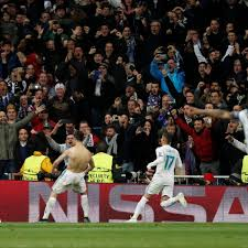 El español sacó un centro rasante al área de juventus, en donde 'cr7' adelantó a todos y definió con gran. Heartbreak For Juventus As Late Penalty Sees Real Madrid Through