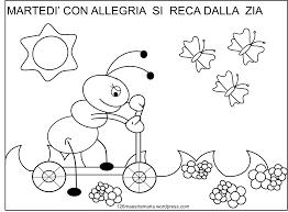 Bellissimo Disegni In Inglese Sulla Cena Da Colorare Per Bambini