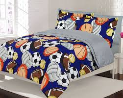 image of boys sports bedding sets
