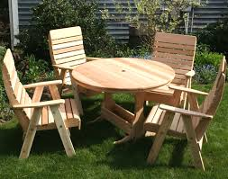 small round outdoor wooden picnic table with umbrella hole concept of picnic table with umbrella hole