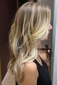 blonde bage fine hair