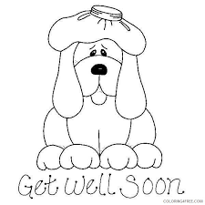 Small Picture get well soon coloring pages feel better Coloring4free