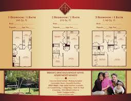 Tri Fold Samples Apartment Tri Fold Brochure Samples