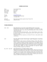 Equities And Derivatives Sales Trader Resume samples