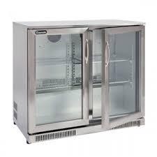 2 door bar fridge gmf228
