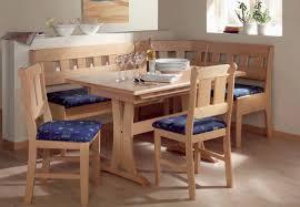 round breakfast nook table