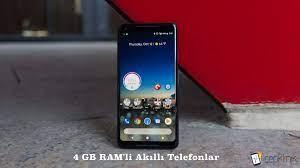 4 GB RAM'li Akıllı Telefonlar