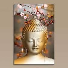 meditation buddha painting on canvas