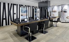 mac s first makeup studio has just launched on new york s upper east side unlike its ten existing manhattan area s the emphasis is less on pushing