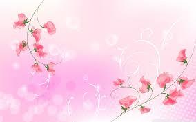 pink flowers ilration ultra hd