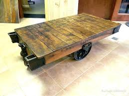 vintage factory furniture. Vintage Factory Furniture Awesome Industrial Cart Coffee Table At With Regard To Custard ,