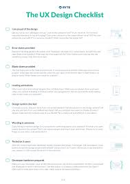 Ux Design Principles The Ux Design Checklist Happiness By Design Ux Design