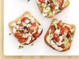 bacon and tomato bread