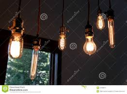 Old School Light Bulbs Old School Light Bulbs Stock Photo Image Of Focus Project