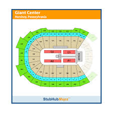 Giant Stadium Hershey Seating Chart Giant Center Events And Concerts In Hershey Giant Center