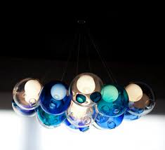 pendant lamp contemporary blown glass low voltage cer 28 19