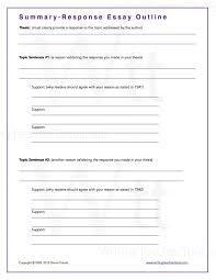 response essay outline okl mindsprout co response essay outline