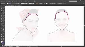 Hair Theory The Hairline Advanced Vector Portraits Envato Adobe Illustrator Tutorial