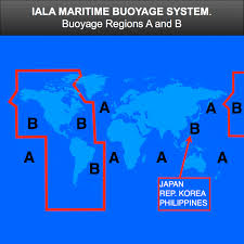 Safe Water Mark On Chart An Explanation Of The Iala Maritime Buoyage System