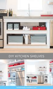 Homemade Kitchen Homemade Modern Ep88 Kitchen Shelves