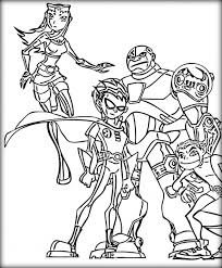 Small Picture Teen Titans Coloring Pages Color Zini