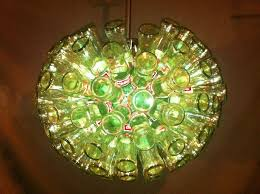 amazing making candelabras from junk home decor ideas beer bottle chandelier diy pictures