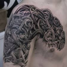 фотографии славянские и скандинавские татуировки эскизы 19