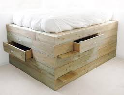 raised full bed frame. Plain Full Full Size Platform Bed With Drawers Pallet For Raised Frame U
