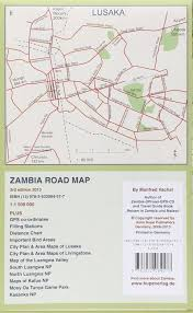 Zambia Road Map 9783932084577 Amazon Com Books